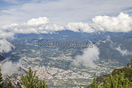 trento in northern italy