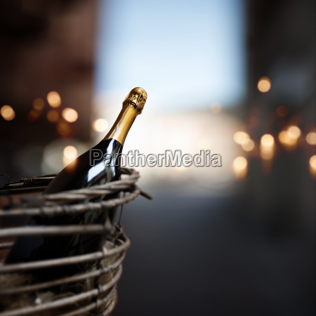 still life with a bottle of