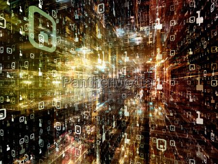 artificial digital world