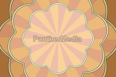 vintage pop art background patterned form