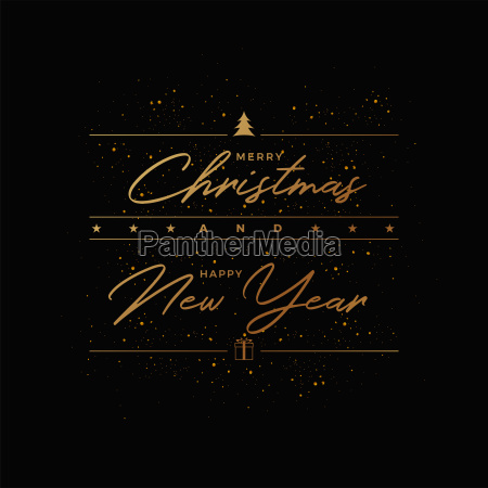 merry christmas greeting card design
