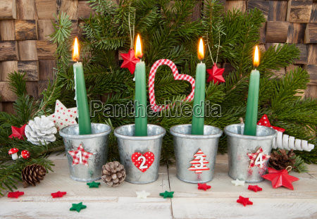 four candles for advent