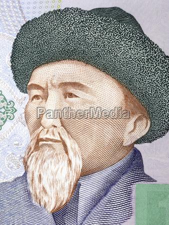 toktogul satylganov portrait