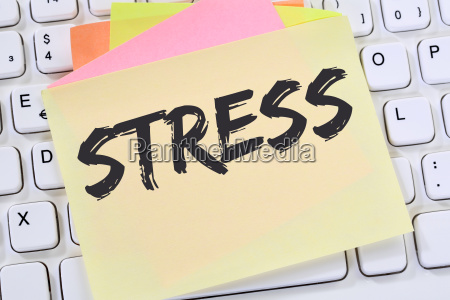 stress in job burnout relaxation exhaustion