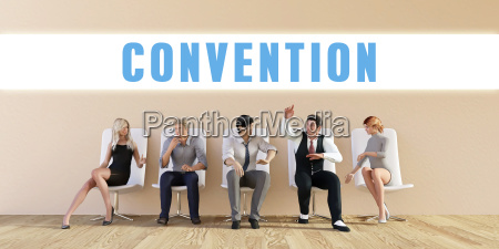 business convention
