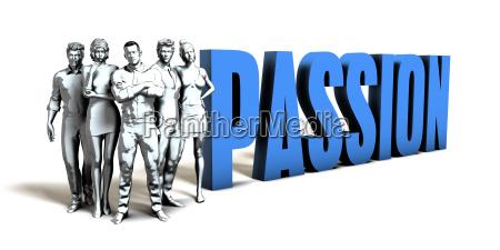 passion business concept