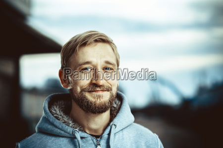 portrait, of, a, young, bearded, man - 23439691