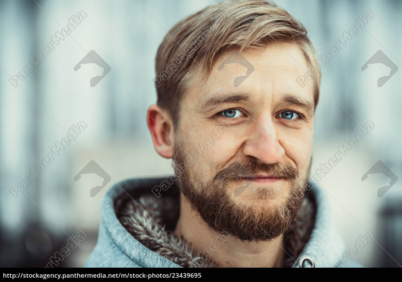 portrait, of, a, young, bearded, man - 23439695