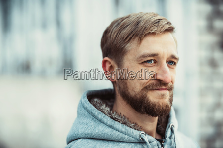 portrait, of, a, young, bearded, man - 23439697