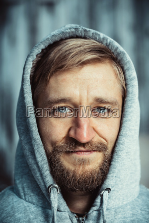 portrait, of, a, young, bearded, man - 23439751