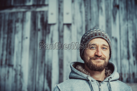 portrait, of, a, young, bearded, man - 23439803