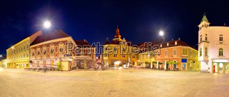 town of ptuj historic main square
