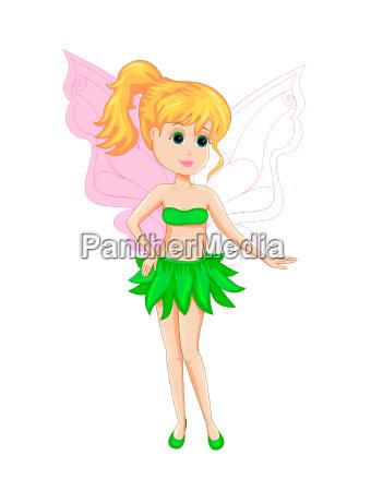 petite green fairy