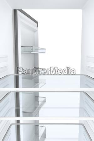 empty, refrigerator, , view, from, inside - 23452501