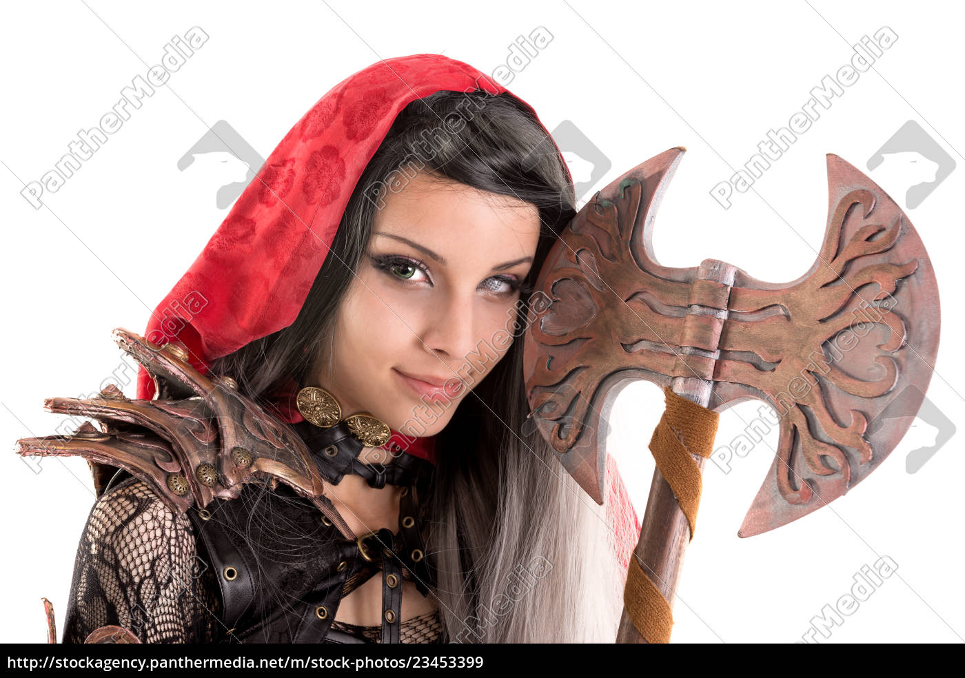 dark, red, riding, hood - 23453399
