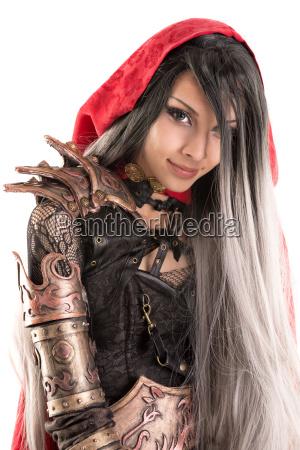 dark, red, riding, hood - 23453405