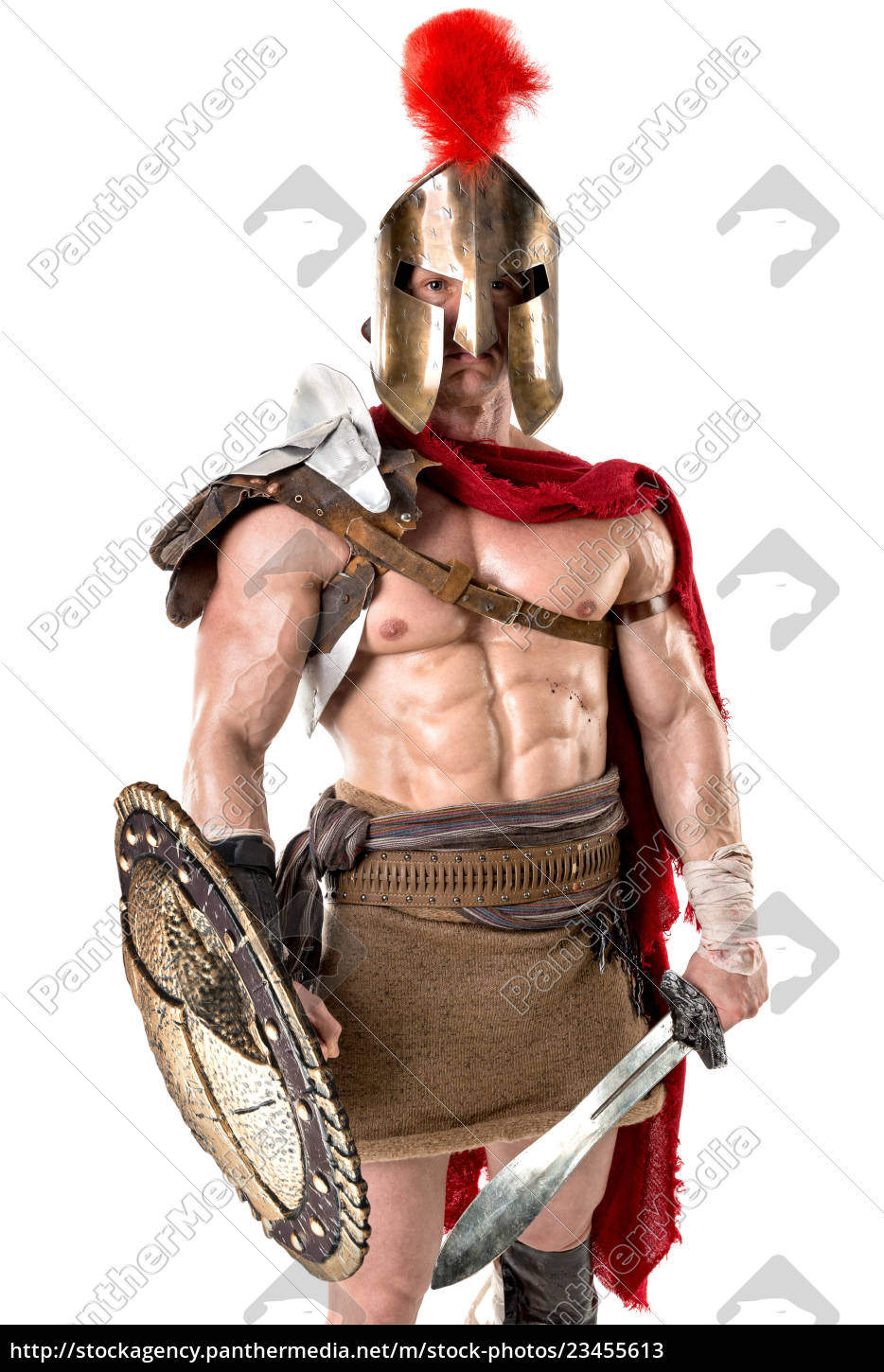 ancient, soldier, or, gladiator - 23455613