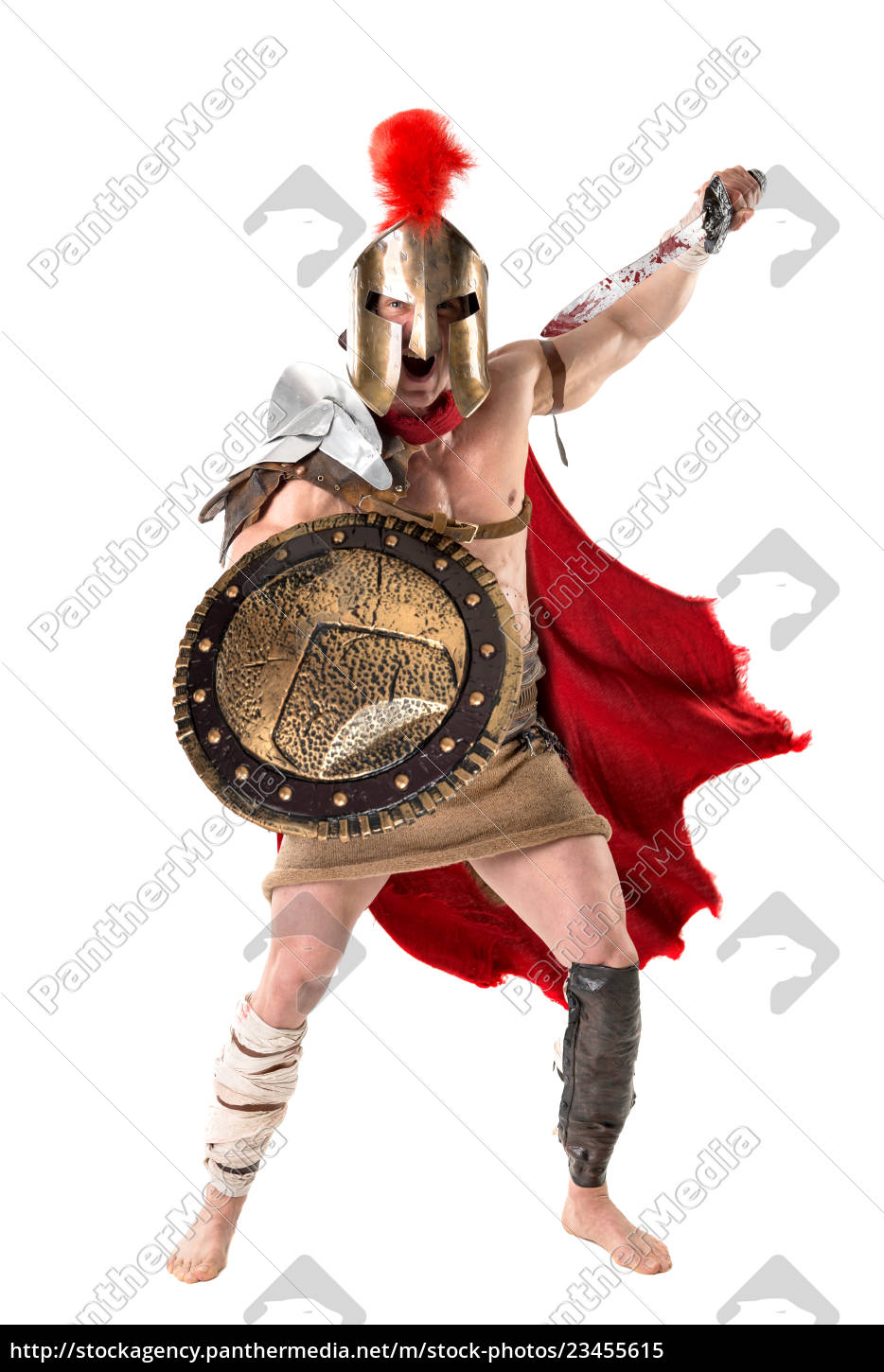 ancient, soldier, or, gladiator - 23455615