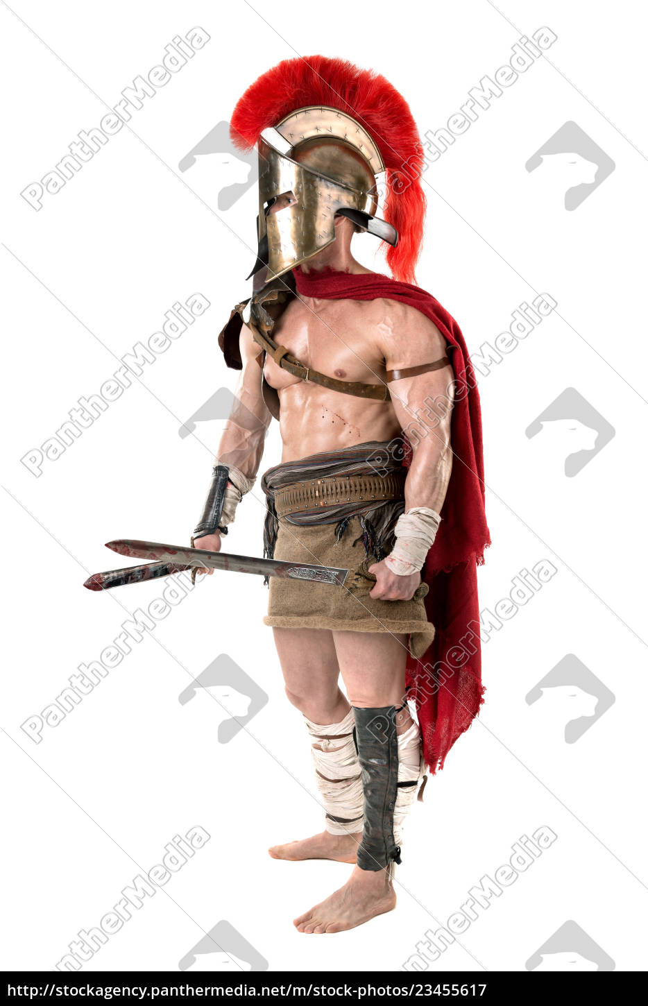 ancient, soldier, or, gladiator - 23455617