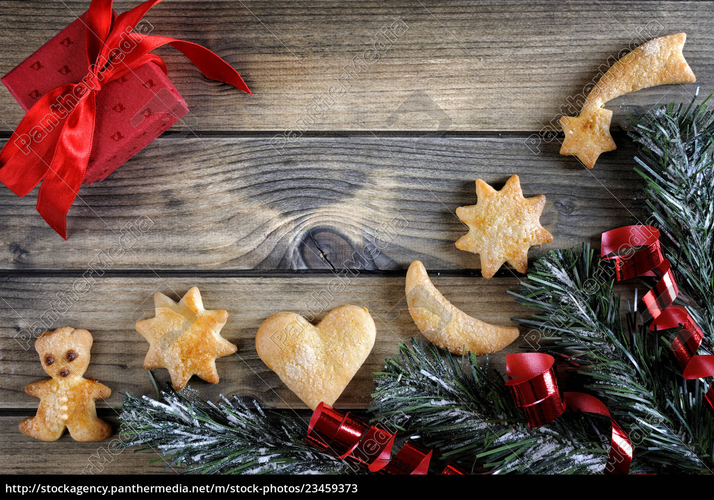 decoration, with, cookies, for, christmas, and - 23459373