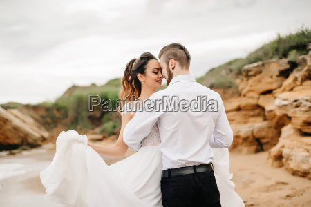 young, couple, groom, with, the, bride - 23459879