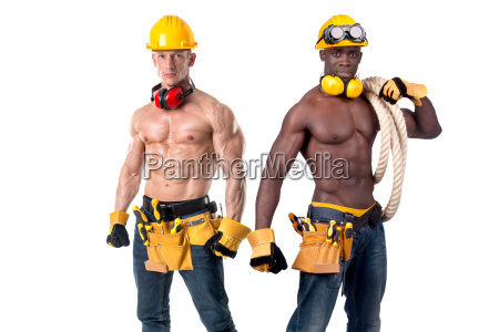 strong, construction, workers - 23461121