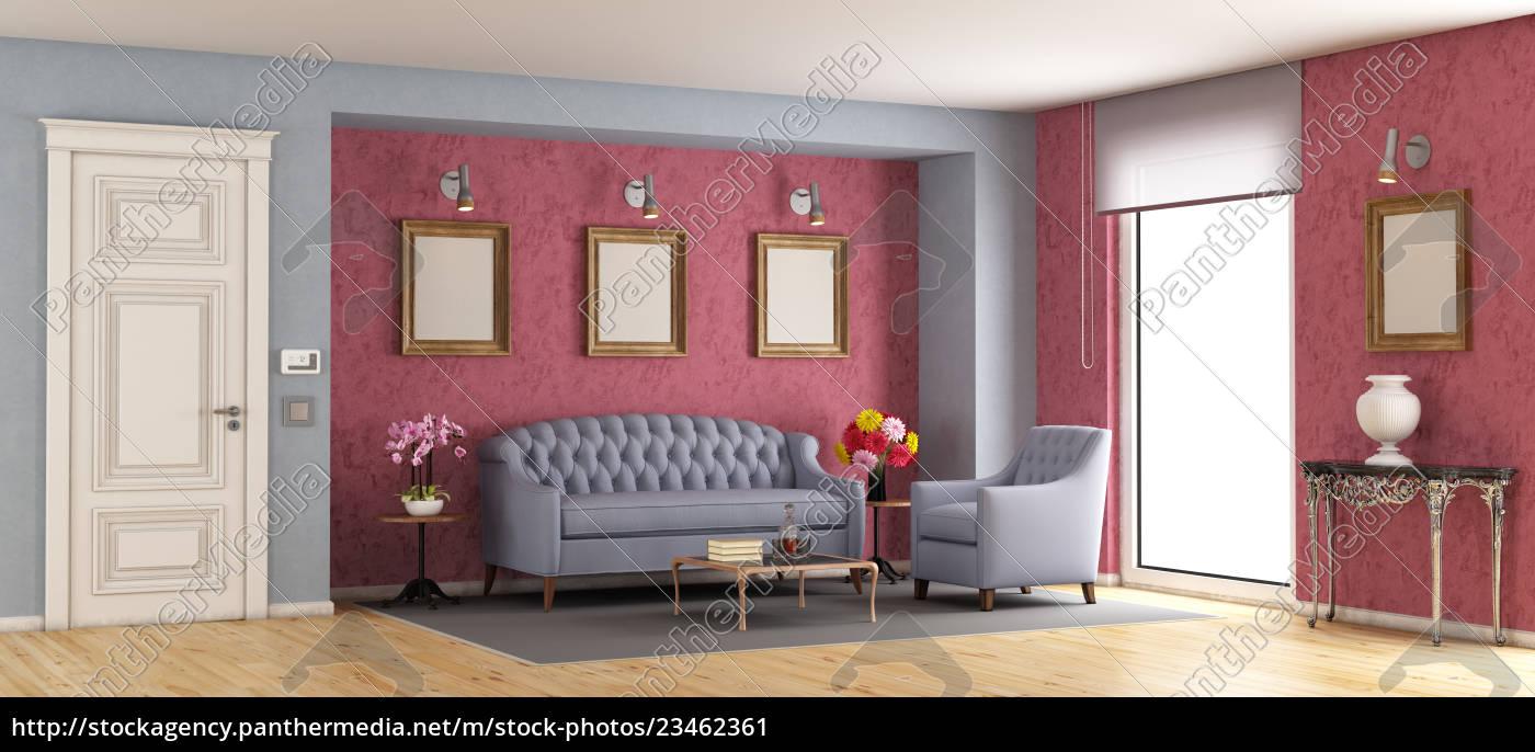 classic, living, room - 23462361