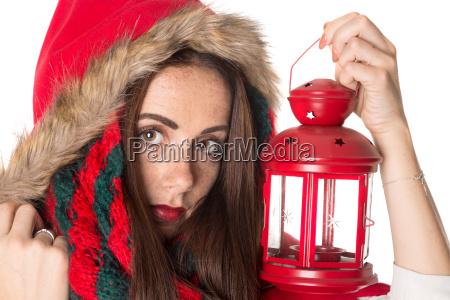 girl, in, christmas - 23464848