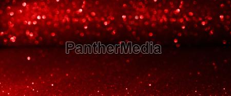 red shining bokeh background