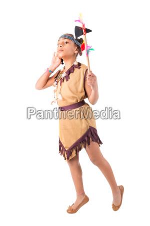 native, american, costume - 23468238