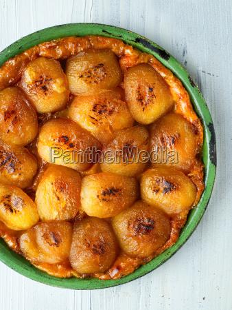 ustic golden french apple tarte tatin