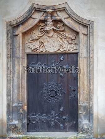 side door of the luther castle