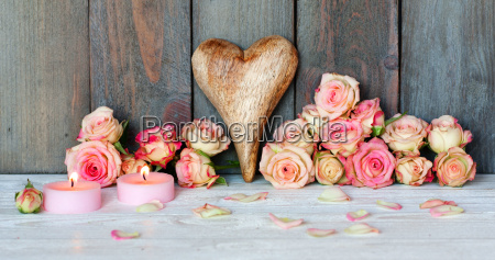 greetings with heart for valentines day