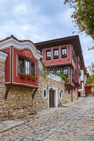 street in plovdiv