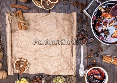 paper bundle of brown paper and