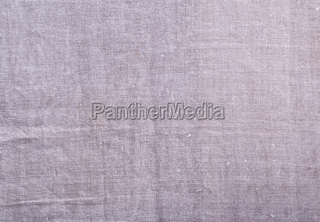 texture of old gray linen fabric