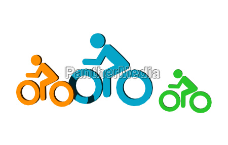 pictogram for cycling