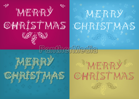 christmas cards with country patterns