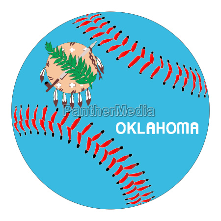 oklahoma flag baseball