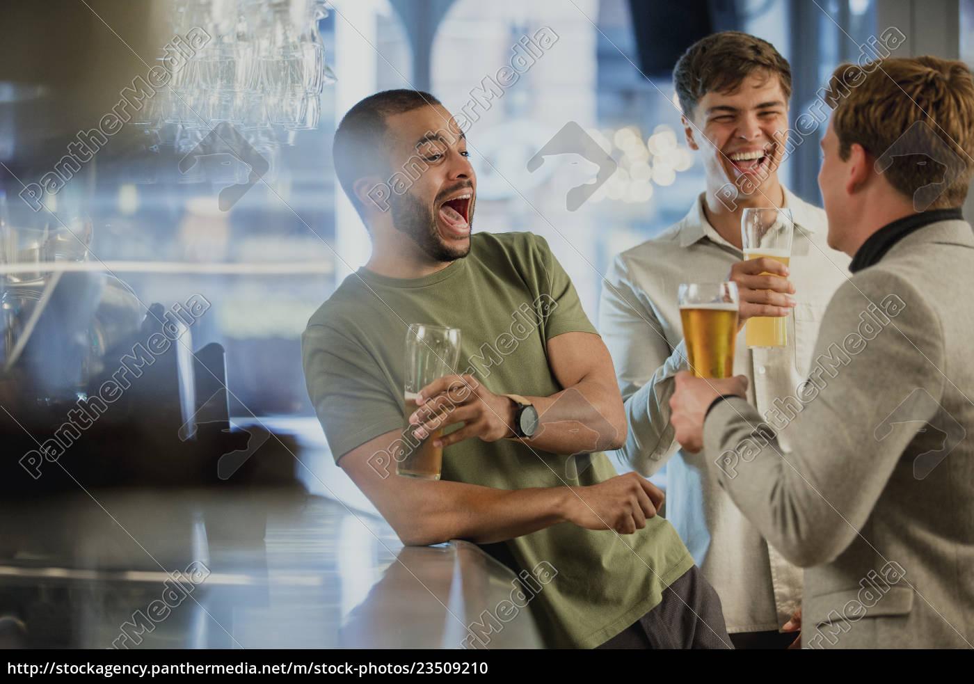 enjoying, drinks, after, work - 23509210