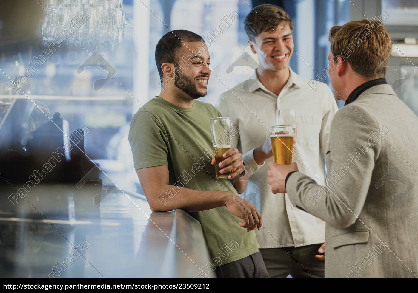 enjoying, drinks, after, work - 23509212