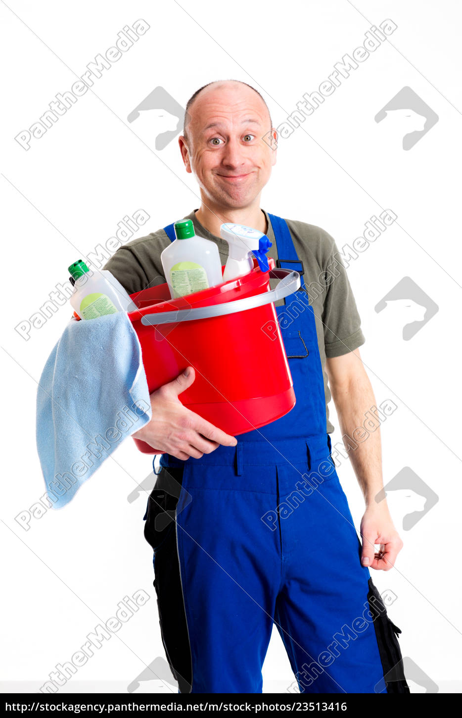 young, male, professional, cleaner - 23513416