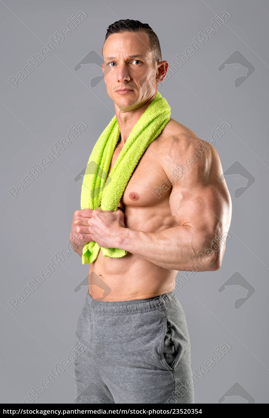 man, with, healthy, body - 23520354