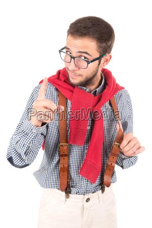 nerd, posing - 23520376