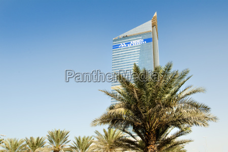 the emirates twin towers in dubai