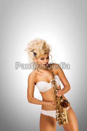 playing, jazz. - 23538776