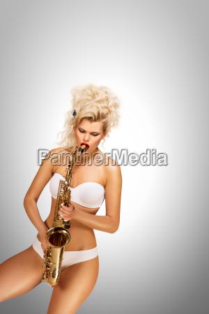 playing, jazz. - 23538778