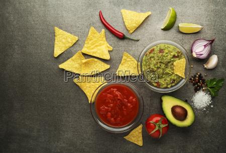 guacamole, sauce, and, salsa - 23547742