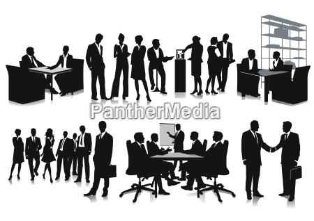 business meeting and meeting