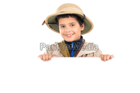 boy, in, safari, clothes - 23550900
